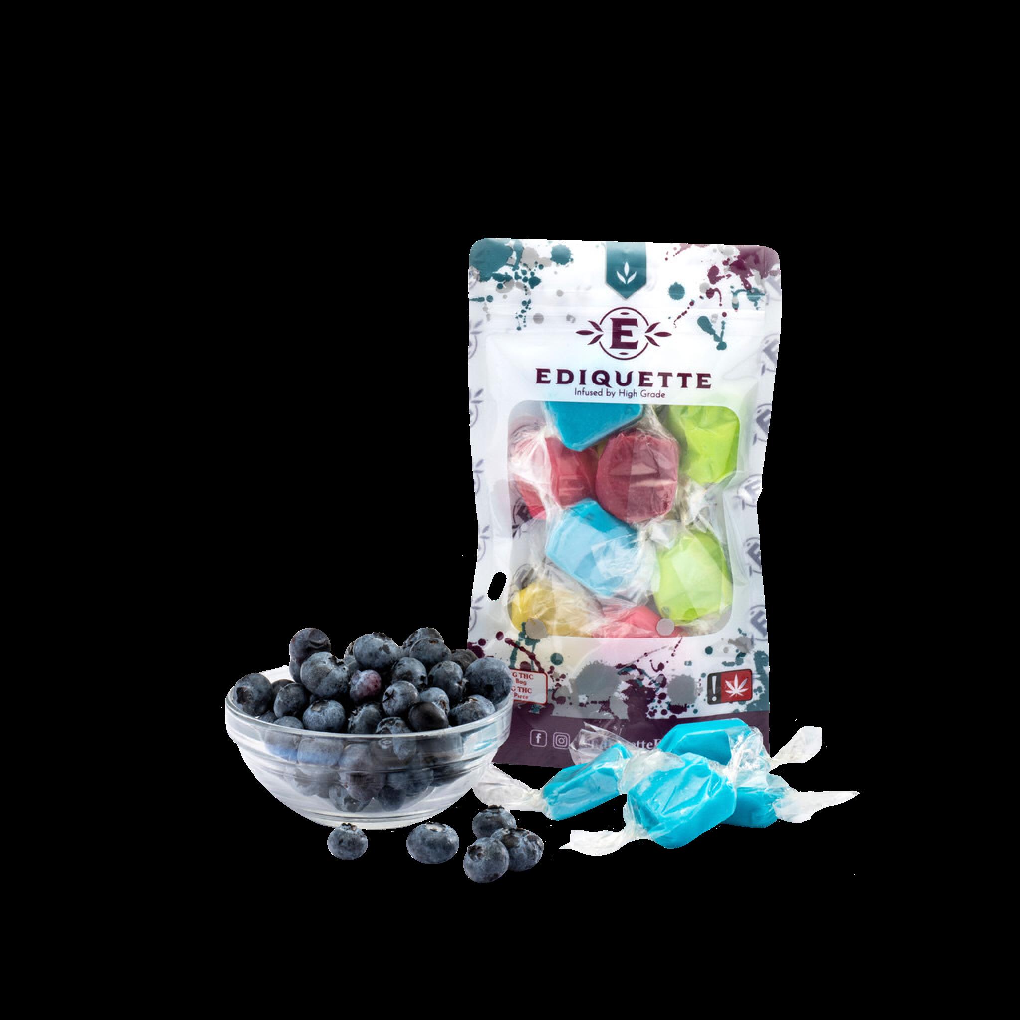 Blueberry Taffy